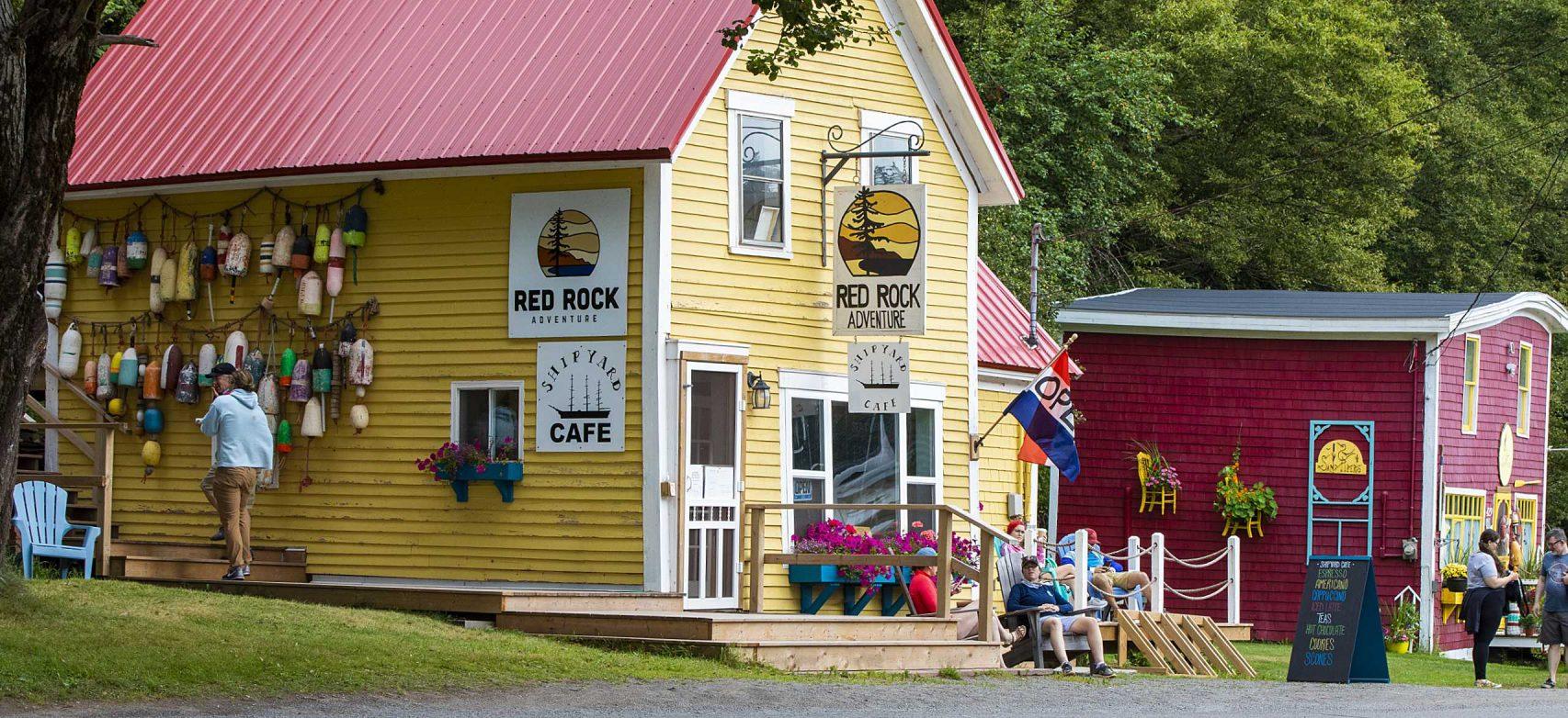 Red Rock Adventure, Shipyard Café, Sandpiper's